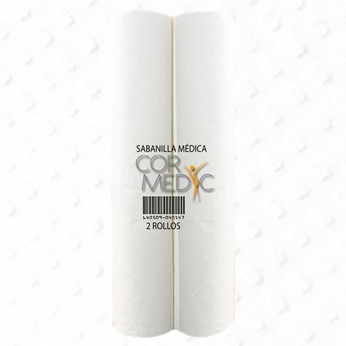 sabanillas papel desechable pack 2 rollos / cormedic