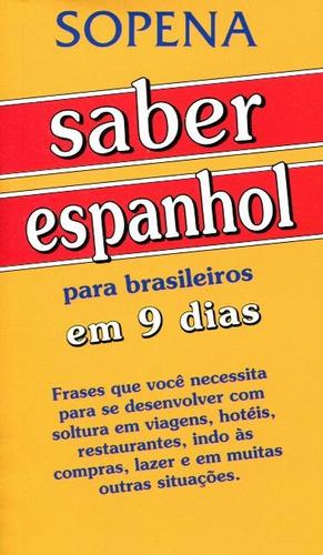 saber espanhol para brasileiros em 9 dias