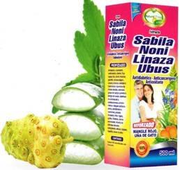sabila noni linaza natural plus ext x 500ml