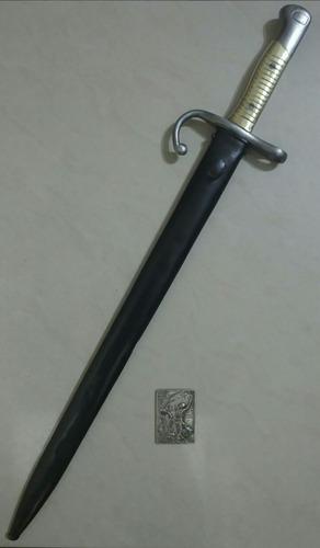sable bayoneta militar mauser modelo 1891 ejército argentino