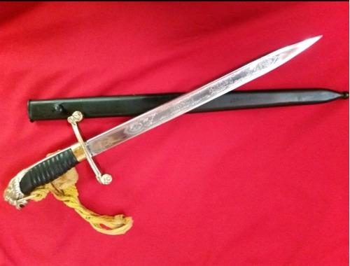 sable couteaux cabeza de leon antiguo no bayoneta
