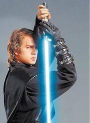 sable star wars yoda espada retráctil luz sonidos mirá video