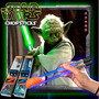 Palitos Star Wars De Sushi Yoda Con Luz Led Light Saber Gree