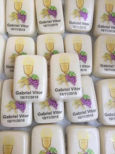 sabonete artesanal - primeira comunhão eucaristia (20 unid.)