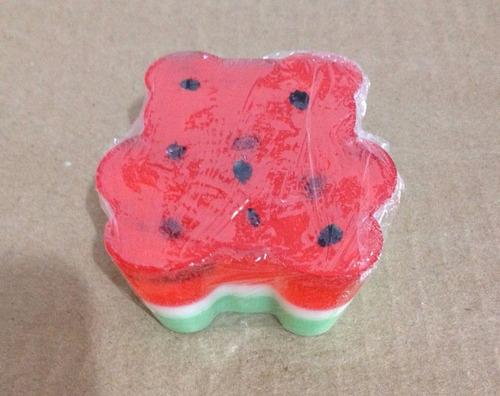 sabonete artesanal urso melancia