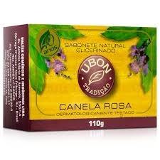 sabonete canela rosa ubon 110gr - kit 50 unidades