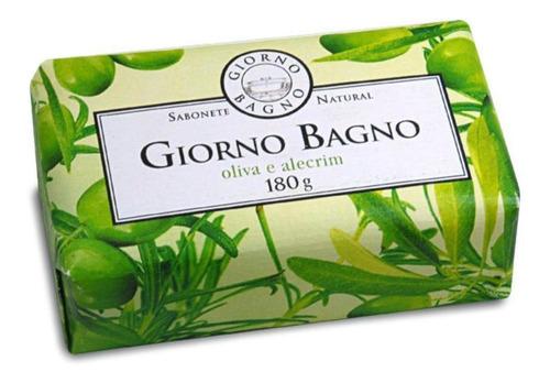 sabonete em barra giorno bagno oliva e alecrim 180g