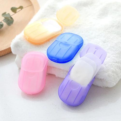 sabonete em laminas folhas de sabonete portátil para bolso