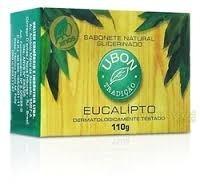 sabonete eucalipto ubon 110gr - kit 50 unidades