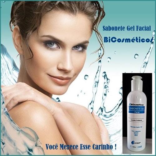 sabonete facial gel  100 g  bicosmeticos registrado anvisa