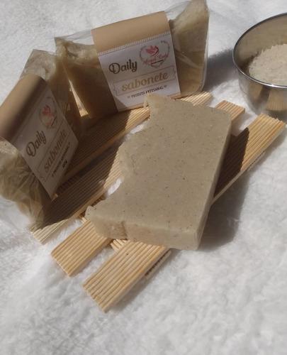 sabonete fitoterápico de água de arroz