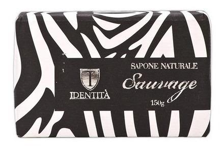 sabonete identitá sauvage zebra 150g
