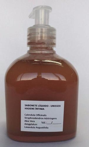sabonete líquido fitoterápico p/ higiene íntima   - unissex