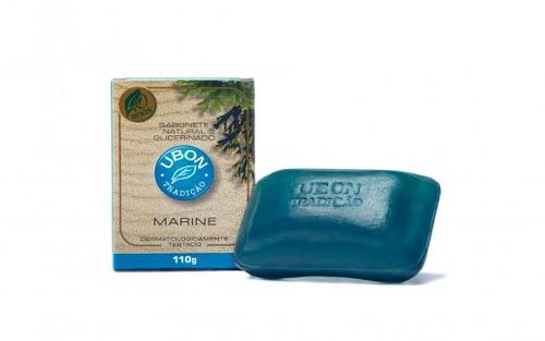 sabonete marine ubon 110gr - kit 10 unidades