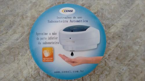 saboneteira líquida automática censi