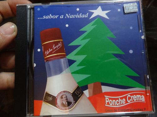 sabor a navidad cd ponche crema excelente