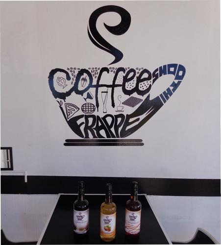 saborizante coffee frape de 1 litro