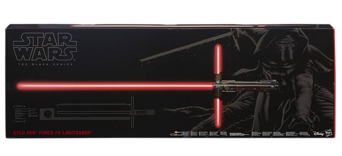 sabre de luz force deluxe episódio vii kylo ren star wars f