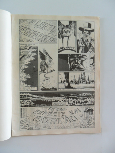 sabre! desenhos paul gulacy! sampa 1990!