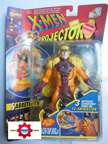sabretooth- x-men projectors- toy biz - marvel