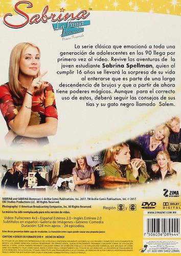 sabrina la bruja adolescente primera temporada 1 uno dvd