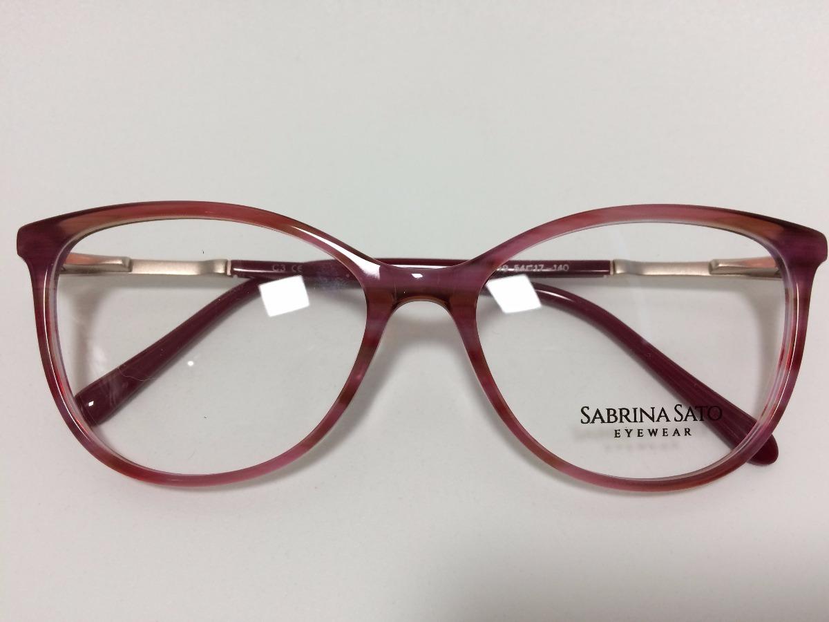 4c768f0bb Sabrina Sato Óculos De Grau Sb5019 54 17 140 C3 - R$ 278,00 em ...