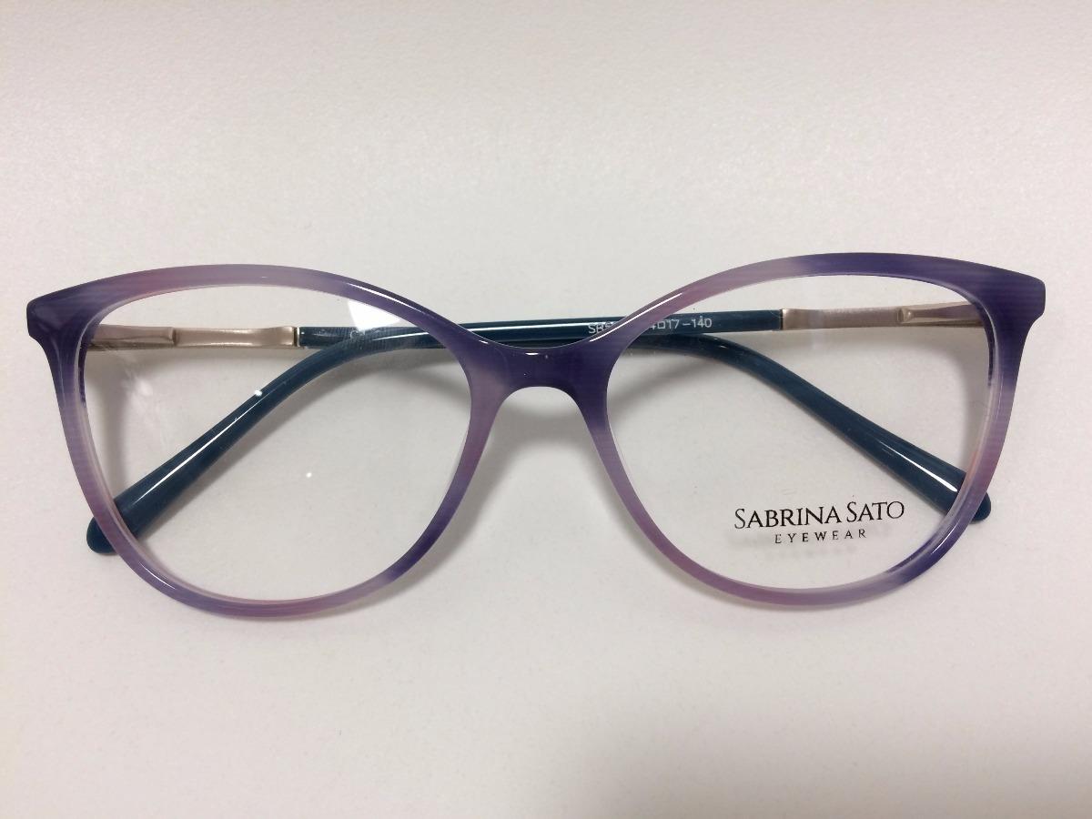 3142fe0d7 Sabrina Sato Óculos De Grau Sb5019 54 17 140 C4 - R$ 278,00 em ...