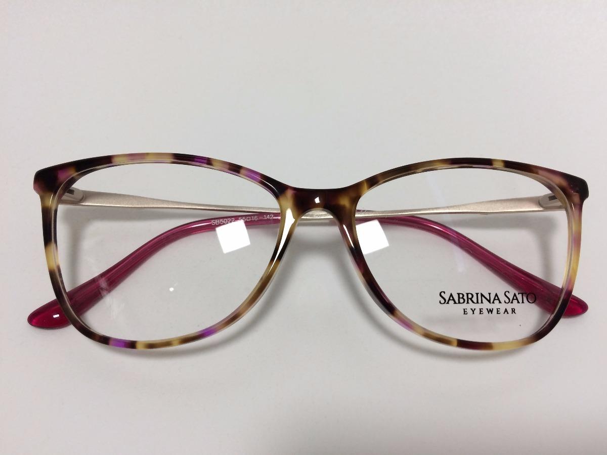 b689470f0943f Sabrina Sato Óculos De Grau Sb5022 55 16 142 C2 - R  278