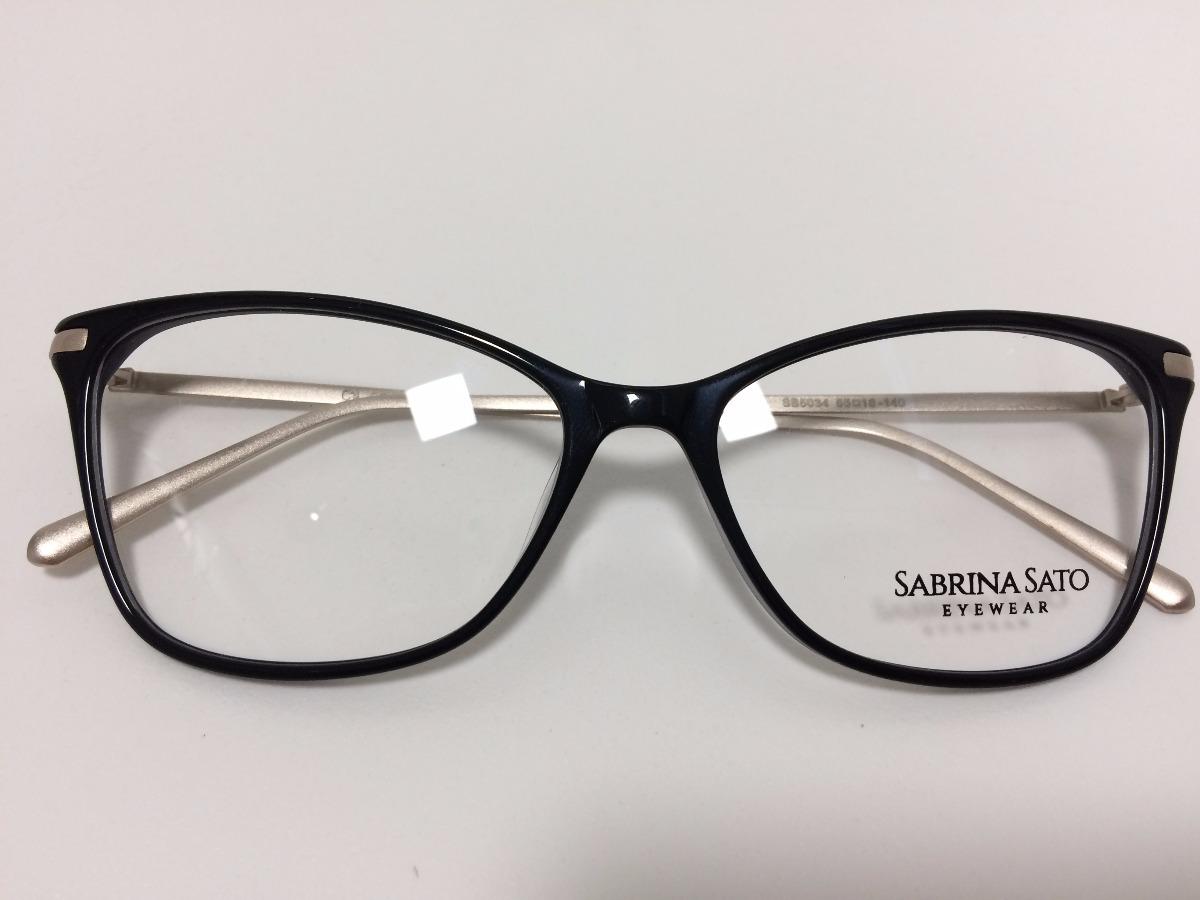 d394a72398e40 sabrina sato óculos de grau sb5034 55 16 140 c4. Carregando zoom.