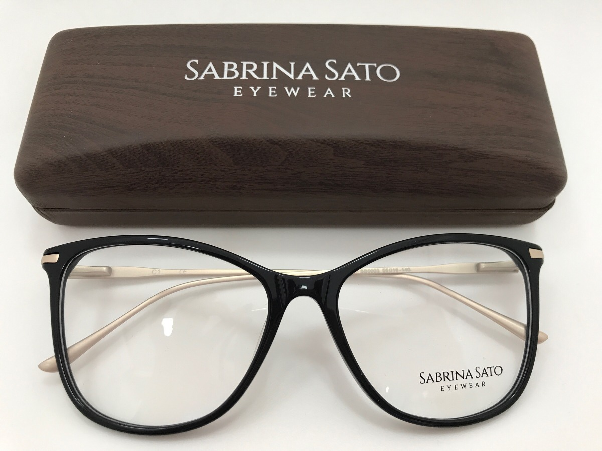 8386dee57 Sabrina Sato Óculos Sb5003 C1 55 16 140 - R$ 291,00 em Mercado Livre