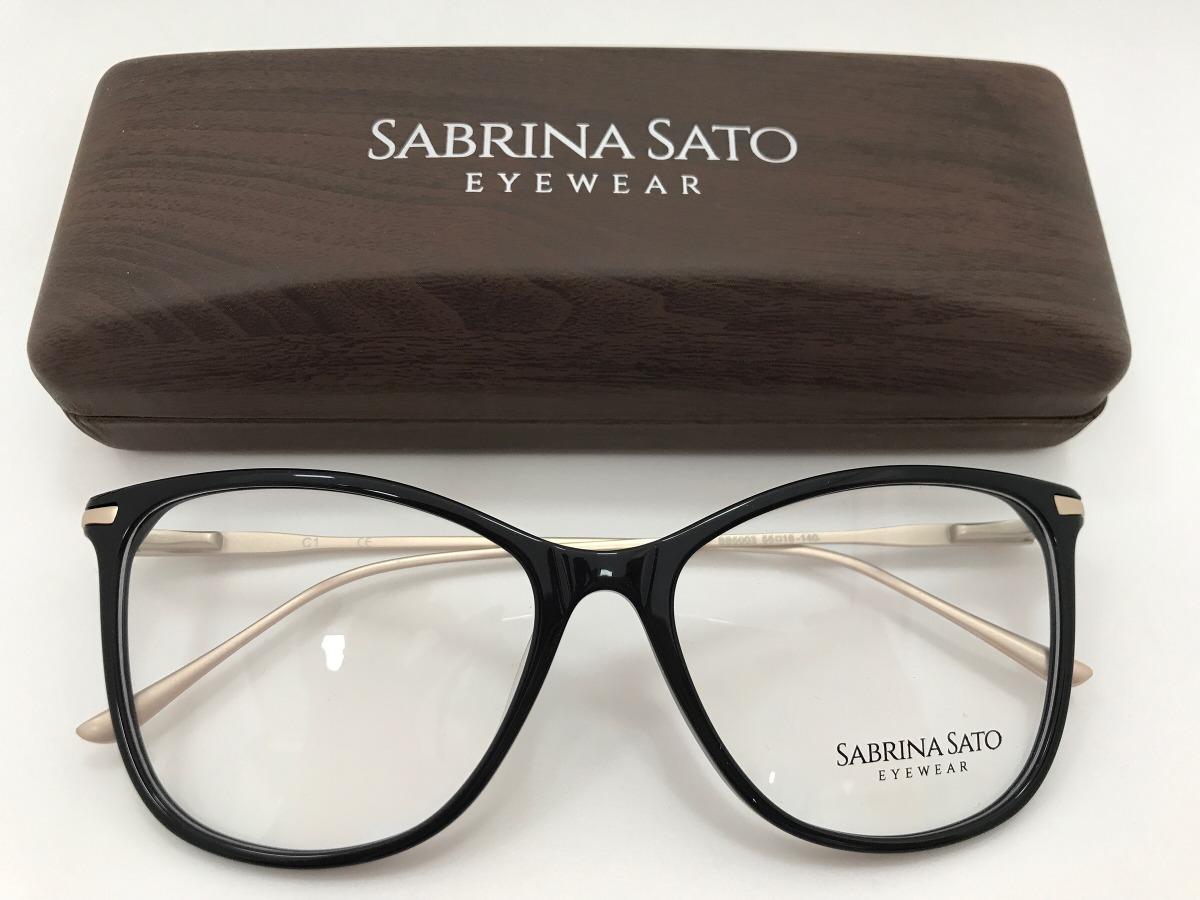 cd07b68d157b3 Sabrina Sato Óculos Sb5003 C1 55 16 140 - R  291,00 em Mercado Livre
