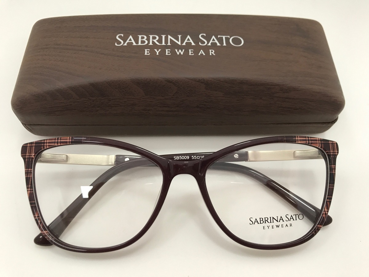 Sabrina Sato Óculos Sb5009 C3 55 16 140 - R  291,00 em Mercado Livre a5dd7d65d1