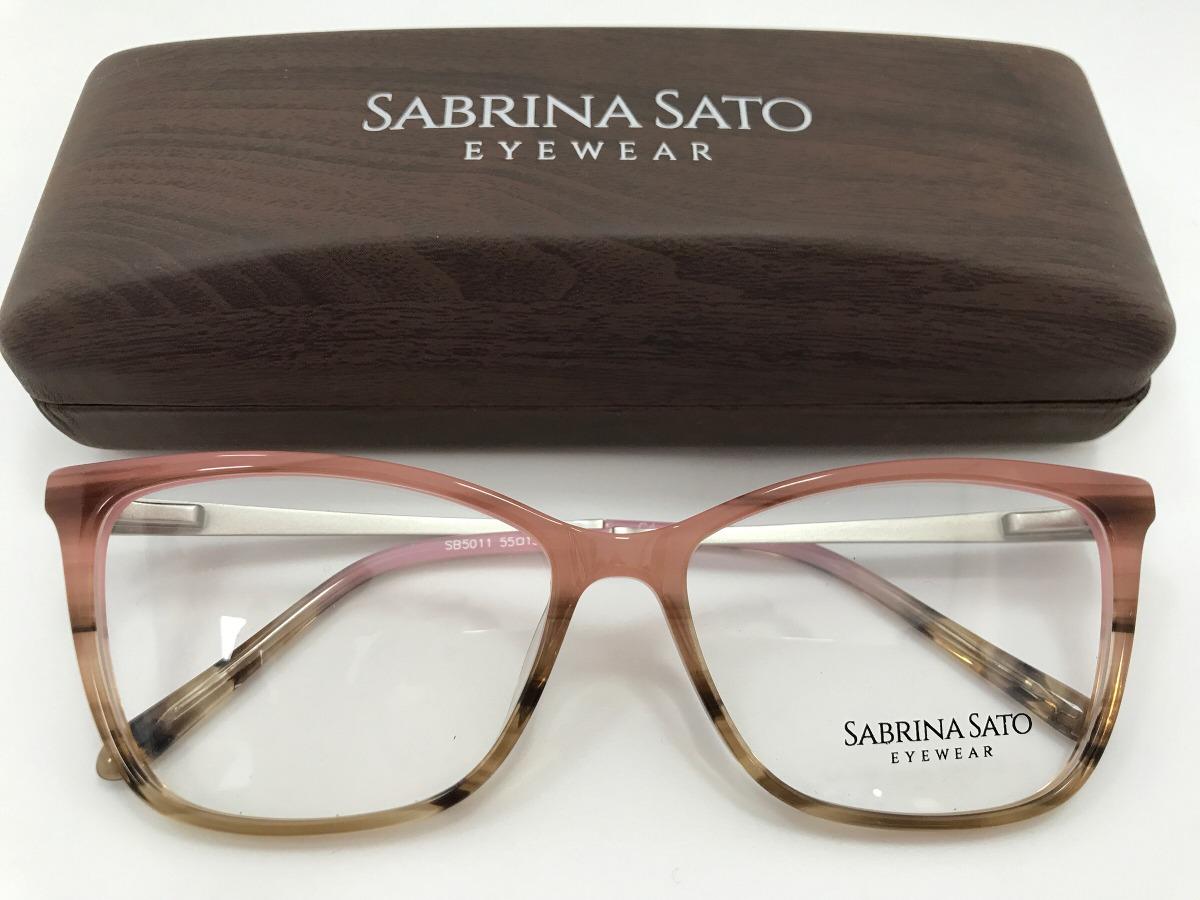Sabrina Sato Óculos Sb5011 C4 55 15 140 - R  291,00 em Mercado Livre 597e4ecacc