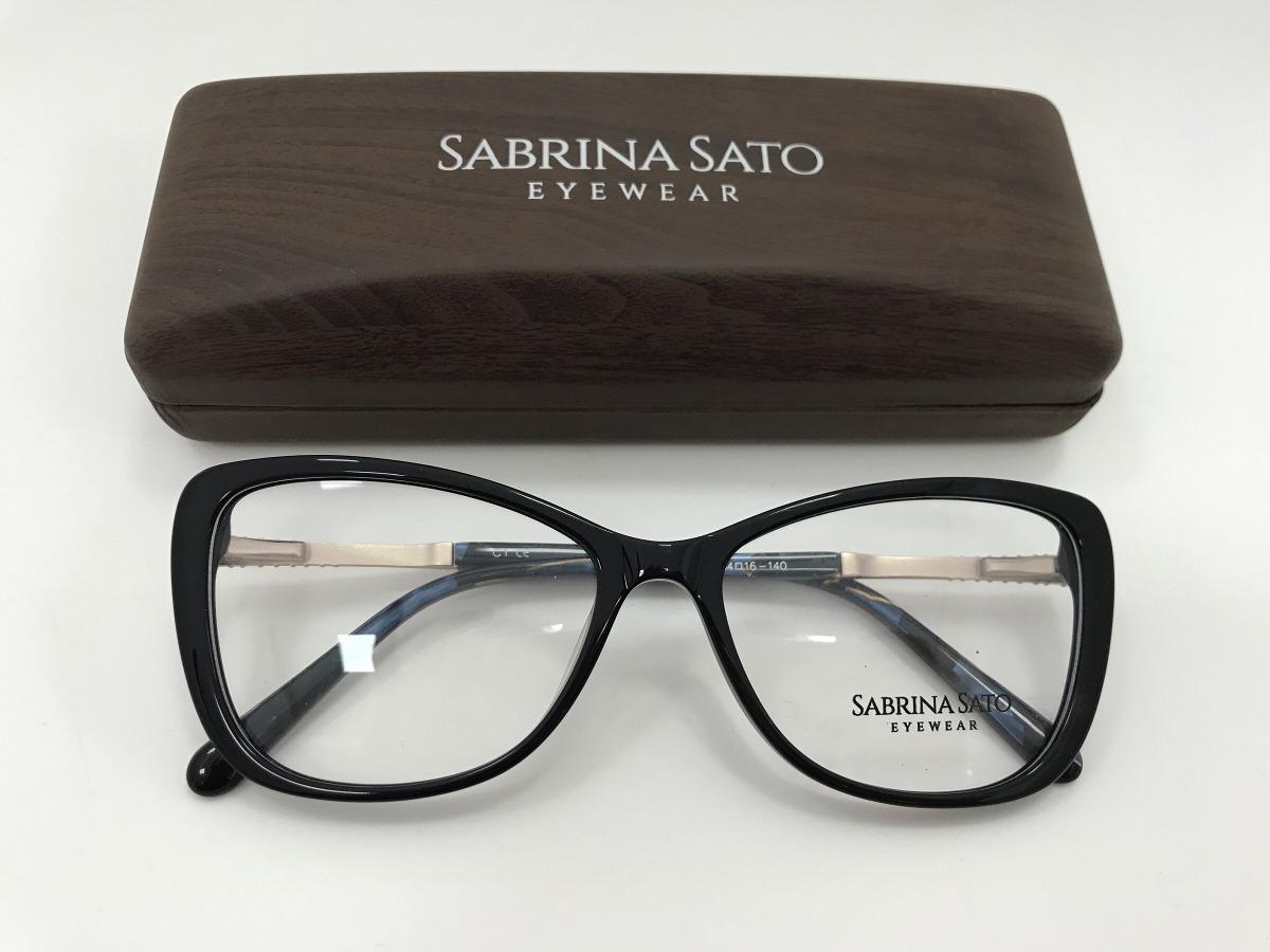 56c703204 Sabrina Sato Óculos Sb5020 54 16 140 - R$ 291,00 em Mercado Livre