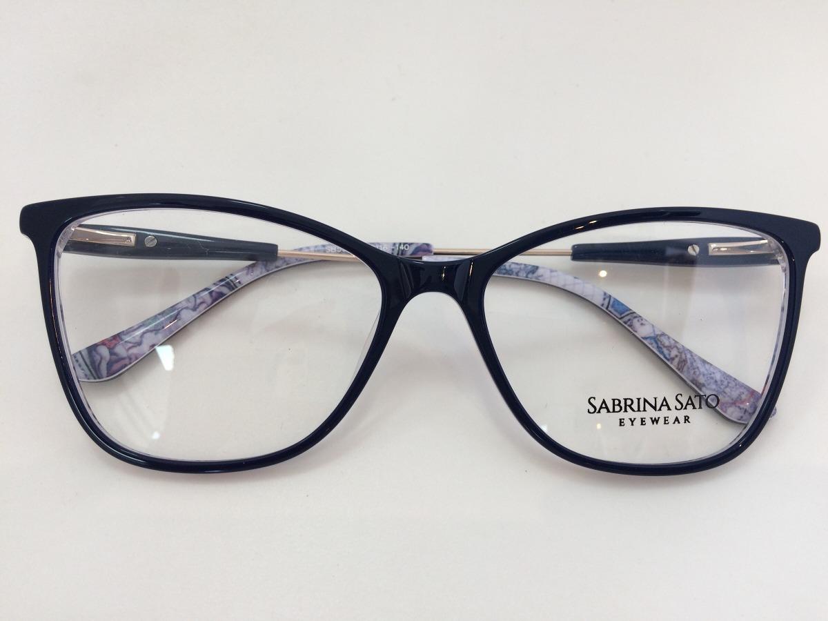4ad2073fd7f41 Sabrina Sato Óculos Sb5023 C3 55 16 140 - R  291,00 em Mercado Livre