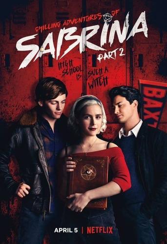 sabrina serie netflix en dvd