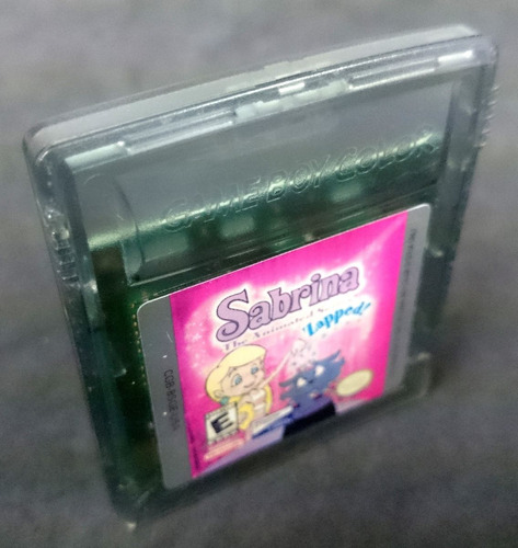 sabrina zapped gameboy gbc excelente estado game boy color