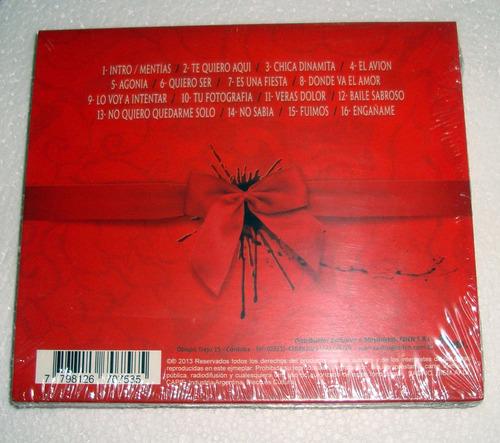 sabroso amor y sangre cd sellado