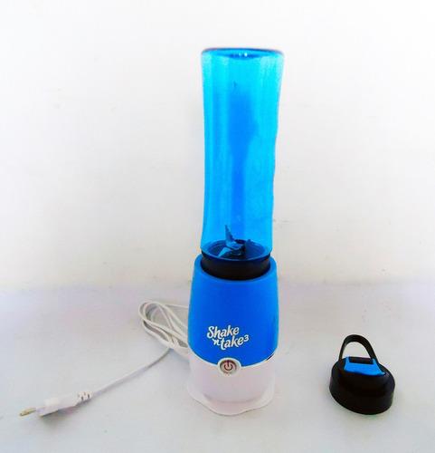 saca jugo juguera batidora portatil 1 vaso desmontable