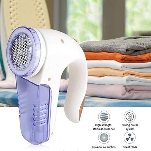 saca pelusas eléctrico recargable potencia restaura ropa