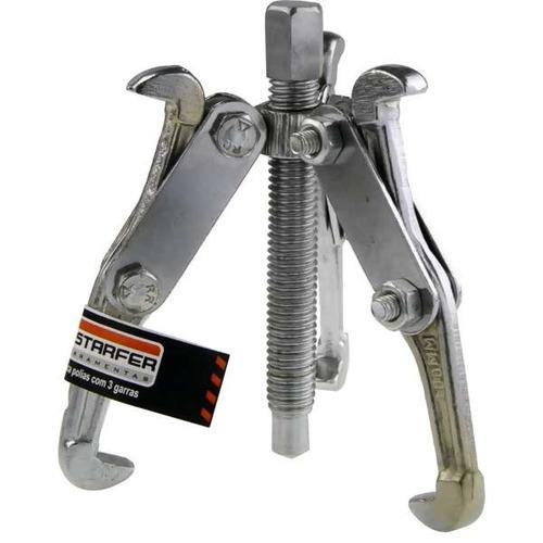 saca polia e rolamentos 3 garras em aço forjado 3 75mm
