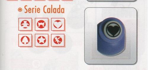 sacabocado perforadora artistica 10mm  tren moño flor huella