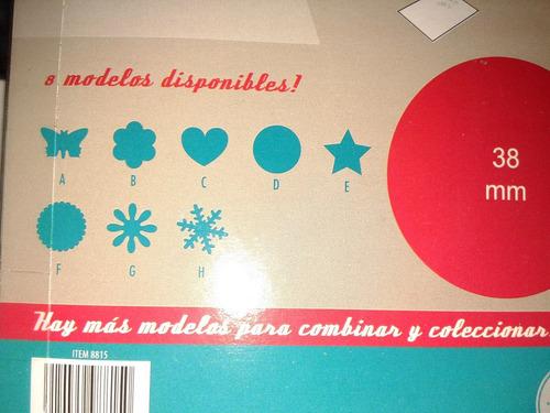 sacabocado perforadora corazon 38mm candybar goma eva/papel