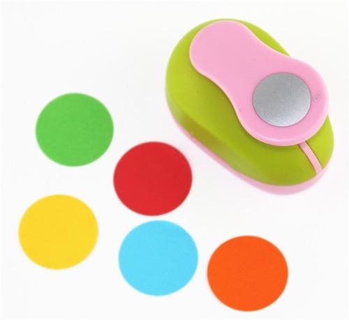 sacabocados circulo asb perforadora 1.6cm goma o eva papel