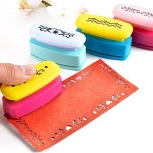 sacabocados con forma perforadora para tarjetas y bordes