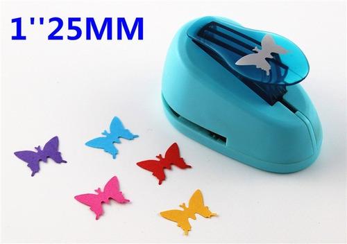 sacabocados perforadoras mariposa 25mm goma eva 2.5cm