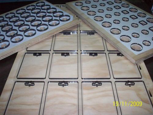 sacabocados troqueles matrices radiofrecuencia termosellado