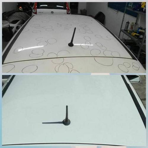 sacabollos sin dañar la pintura, trabajamos con seguros!