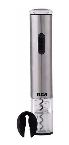 sacacorchos descorchador eléctrico rca rh-wo60ss inox