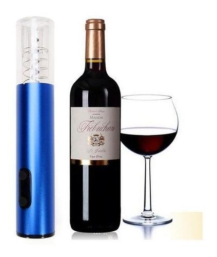 sacacorchos electrico recargable regalo destapador de vino